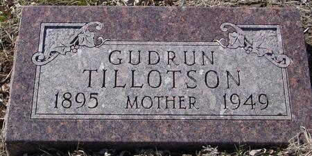 TILLOTSON, GUDRUN - Ida County, Iowa   GUDRUN TILLOTSON