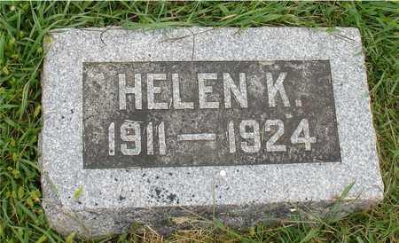 TIMMANN, HELEN K. - Ida County, Iowa   HELEN K. TIMMANN