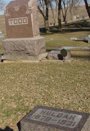 TODD, HULDAH - Ida County, Iowa | HULDAH TODD