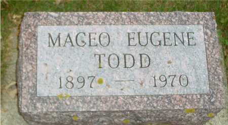 TODD, MAGEO EUGENE - Ida County, Iowa | MAGEO EUGENE TODD