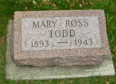ROSS TODD, MARY - Ida County, Iowa | MARY ROSS TODD