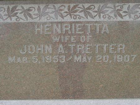 TRETTER, HENRIETTA - Ida County, Iowa | HENRIETTA TRETTER