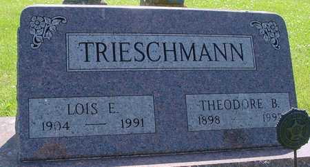 TRIESCHMANN, THEO. & LOIS - Ida County, Iowa   THEO. & LOIS TRIESCHMANN