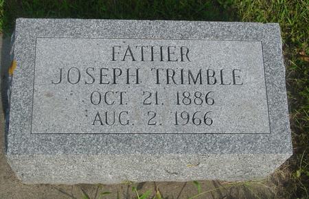 TRIMBLE, JOSEPH - Ida County, Iowa   JOSEPH TRIMBLE