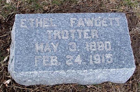 FAWCETT TROTTER, ETHEL - Ida County, Iowa | ETHEL FAWCETT TROTTER