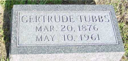 TUBBS, GERTRUDE - Ida County, Iowa | GERTRUDE TUBBS