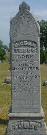 TUBBS, S. DEAN - Ida County, Iowa   S. DEAN TUBBS