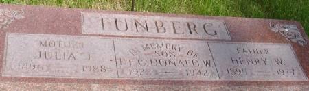 TUNBERG, HENRY W. - Ida County, Iowa | HENRY W. TUNBERG