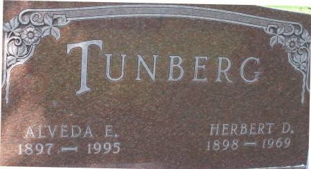 TUNBERG, ALVEDA E. - Ida County, Iowa | ALVEDA E. TUNBERG
