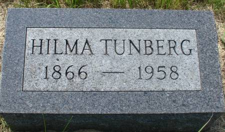 TUNBERG, HILMA - Ida County, Iowa | HILMA TUNBERG