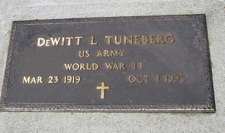 TUNEBERG, DEWITT L. - Ida County, Iowa   DEWITT L. TUNEBERG