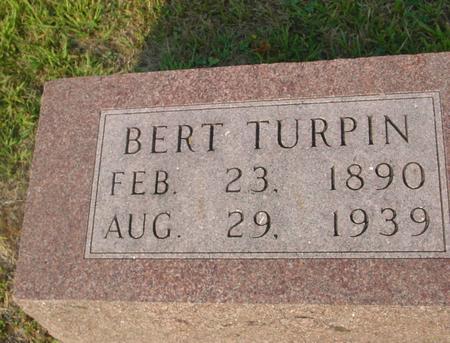TURPIN, BERT - Ida County, Iowa | BERT TURPIN