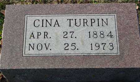 TURPIN, CINA - Ida County, Iowa   CINA TURPIN