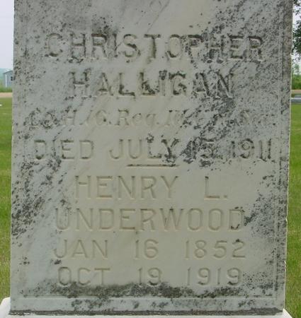 UNDERWOOD, HENRY  L. - Ida County, Iowa | HENRY  L. UNDERWOOD