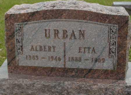 URBAN, ALBERT & ETTA - Ida County, Iowa | ALBERT & ETTA URBAN