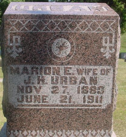URBAN, MARION E. & JOHN - Ida County, Iowa | MARION E. & JOHN URBAN