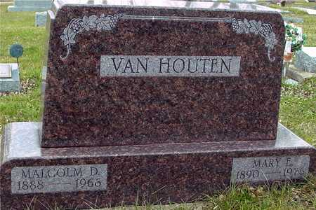 VAN HOUTEN, MALCOLM & MARY E. - Ida County, Iowa   MALCOLM & MARY E. VAN HOUTEN