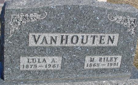 VAN HOUTEN, M. RILEY & LULA A. - Ida County, Iowa | M. RILEY & LULA A. VAN HOUTEN