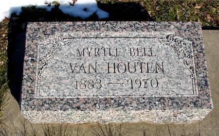 VAN HOUTEN, MYRTLE BELL - Ida County, Iowa | MYRTLE BELL VAN HOUTEN