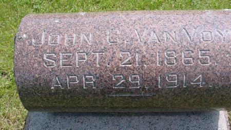 VAN VOY, JOHN - Ida County, Iowa | JOHN VAN VOY