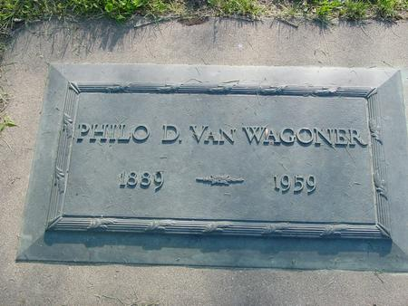 VAN WAGONER, PHILO D. - Ida County, Iowa | PHILO D. VAN WAGONER