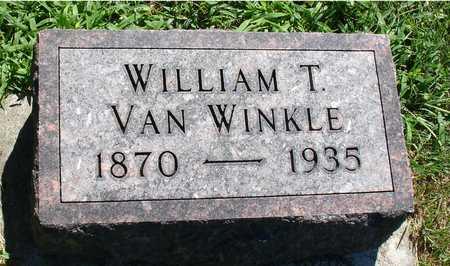 VAN WINKLE, WILLIAM T. - Ida County, Iowa | WILLIAM T. VAN WINKLE