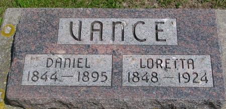 VANCE, DANIEL & LORETTA - Ida County, Iowa | DANIEL & LORETTA VANCE