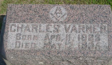 VARNER, CHARLES - Ida County, Iowa   CHARLES VARNER