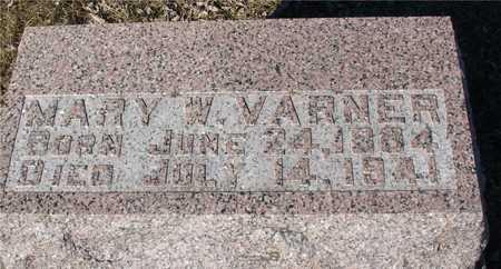 VARNER, MARY W. - Ida County, Iowa   MARY W. VARNER