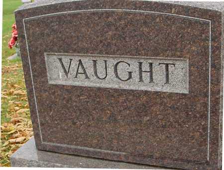 VAUGHT, FAMILY MARKER - Ida County, Iowa | FAMILY MARKER VAUGHT