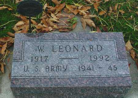VAUGHT, W. LEONARD - Ida County, Iowa | W. LEONARD VAUGHT