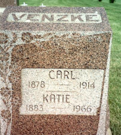 VENZKE, CARL - Ida County, Iowa | CARL VENZKE