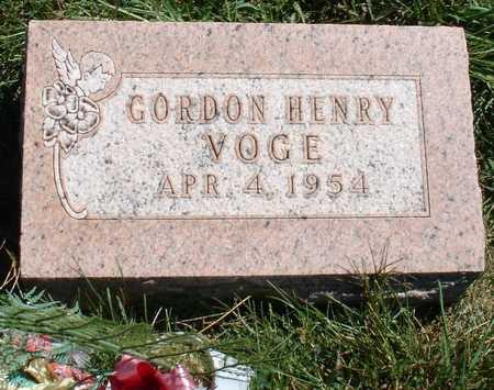 VOGE, GORDON HENRY - Ida County, Iowa | GORDON HENRY VOGE