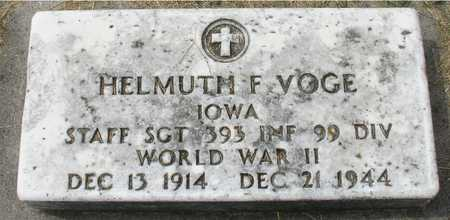 VOGE, HELMUTH F. - Ida County, Iowa | HELMUTH F. VOGE
