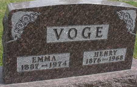 VOGE, HENRY & EMMA - Ida County, Iowa | HENRY & EMMA VOGE