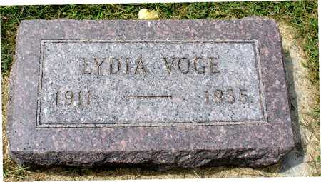 VOGE, LYDIA - Ida County, Iowa | LYDIA VOGE