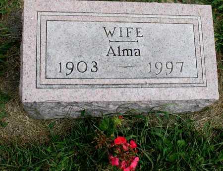VOHS, ALMA - Ida County, Iowa   ALMA VOHS