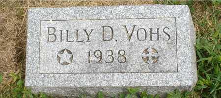 VOHS, BILLY D. - Ida County, Iowa | BILLY D. VOHS
