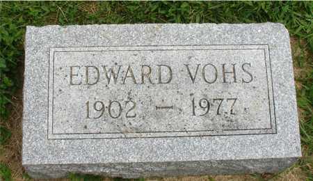 VOHS, EDWARD - Ida County, Iowa | EDWARD VOHS