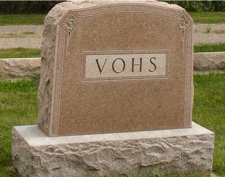 VOHS, FAMILY MARKER - Ida County, Iowa | FAMILY MARKER VOHS
