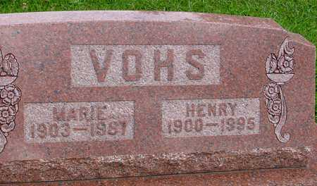 VOHS, HENRY & MARIE - Ida County, Iowa | HENRY & MARIE VOHS