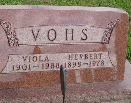 VOHS, HERBERT & VIOLA - Ida County, Iowa | HERBERT & VIOLA VOHS