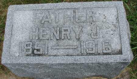 VOHS, HENRY J. - Ida County, Iowa | HENRY J. VOHS