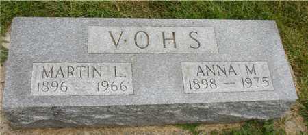 VOHS, MARTIN & ANNA - Ida County, Iowa | MARTIN & ANNA VOHS