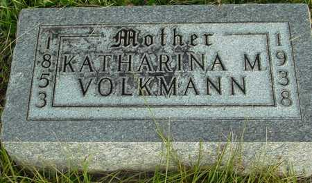 VOLKMANN, KATHARINA M. - Ida County, Iowa | KATHARINA M. VOLKMANN