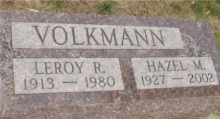 VOLKMANN, LEROY R. - Ida County, Iowa   LEROY R. VOLKMANN