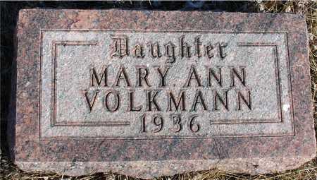 VOLKMANN, MARY ANN - Ida County, Iowa   MARY ANN VOLKMANN