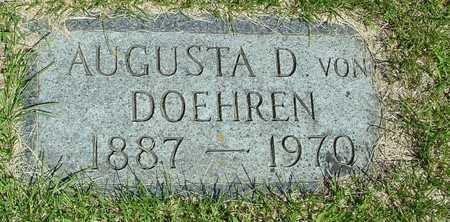VON DOEHREN, AUGUSTA - Ida County, Iowa | AUGUSTA VON DOEHREN