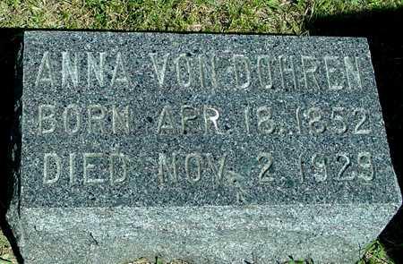 VON DOHREN, ANNA - Ida County, Iowa | ANNA VON DOHREN