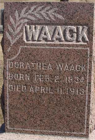 WAACK, DORATHEA - Ida County, Iowa | DORATHEA WAACK